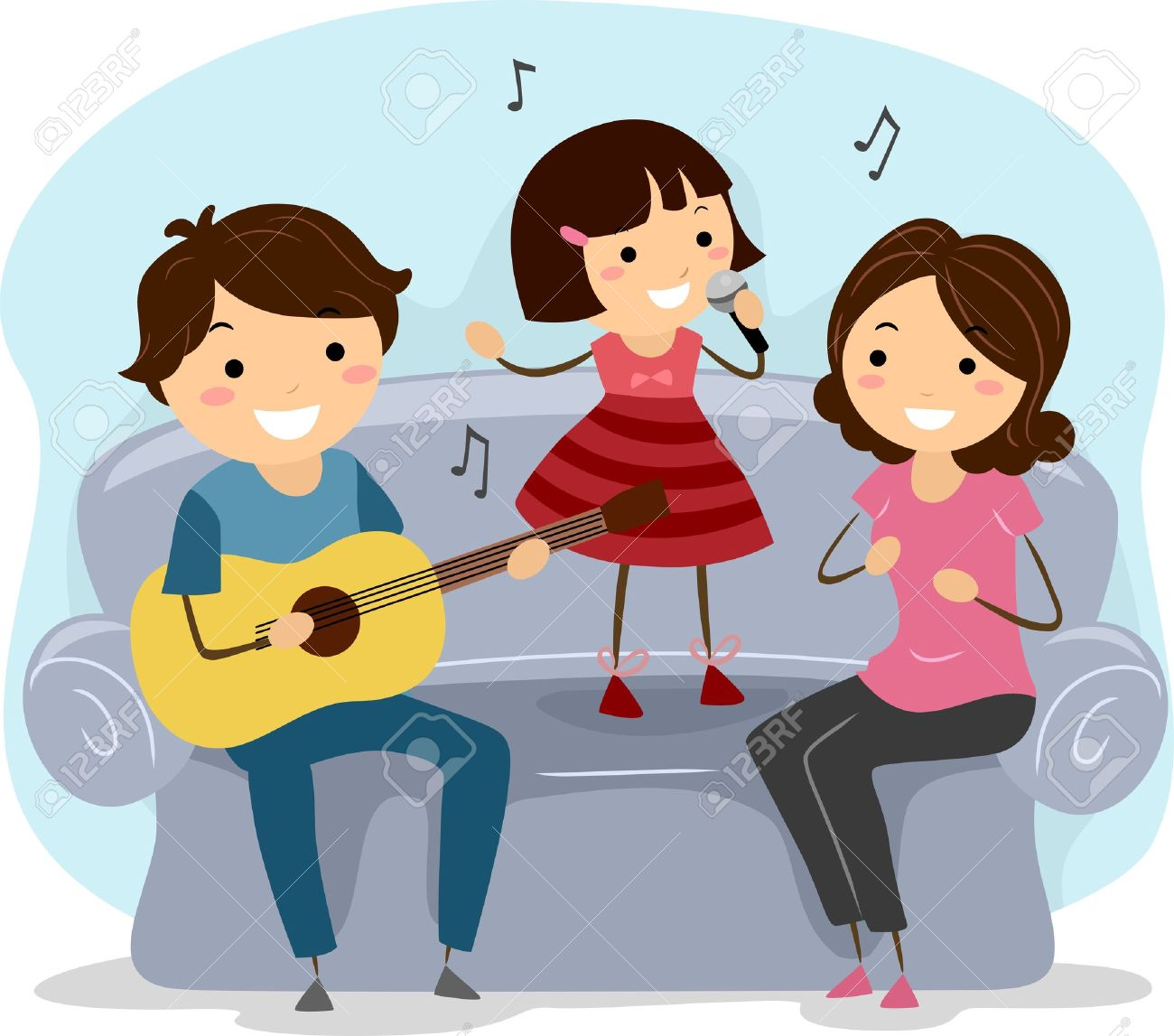 Singing together is a medicine for our heart