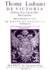 Victoria - Officium Defunctorum