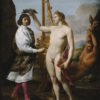 Andrea Sacchi, oil painting of Marc'Antonio Pasqualini (1614-91) being crowned by Apollo. 1641. Image courtesy of the Metropolitan Museum of Art, New York City. Purchase, Enid A. Haupt Gift and Gwynne Andrews Fund, 1981. Reproduced by permission.