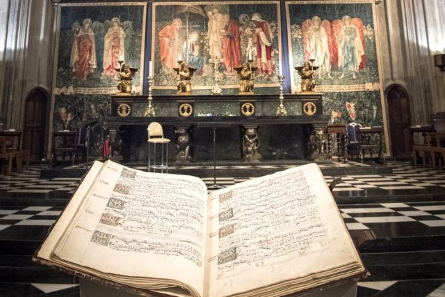 Eton Choirbook: un alone di mistero